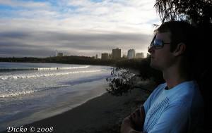 Paul contemplating