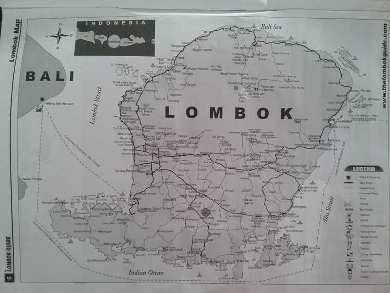 Off to Lombok