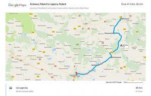 Åıcinawa, Poland to Legnica, Poland - Google Maps