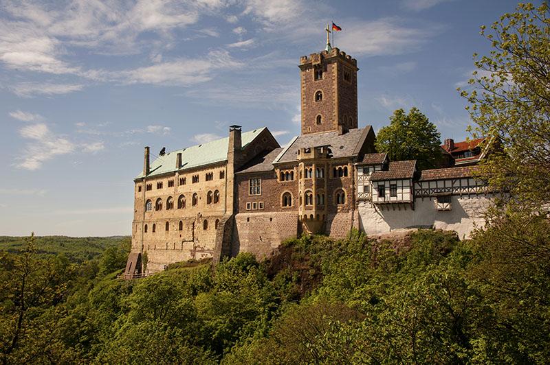 Sondershausen to Eisenach (Car Journey)