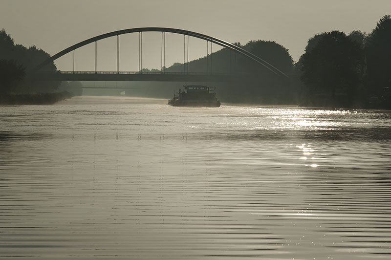 Kampen to Minden, Germany