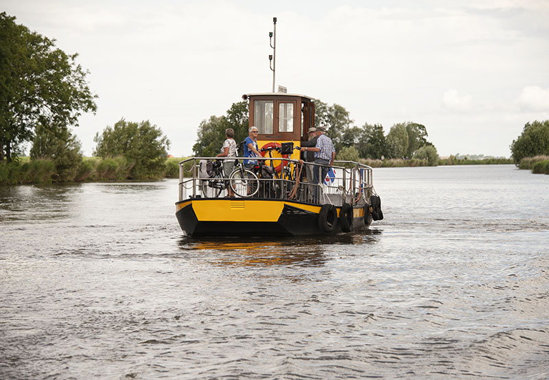 Dokkum to Leeuwarden: Netherlands, Europe