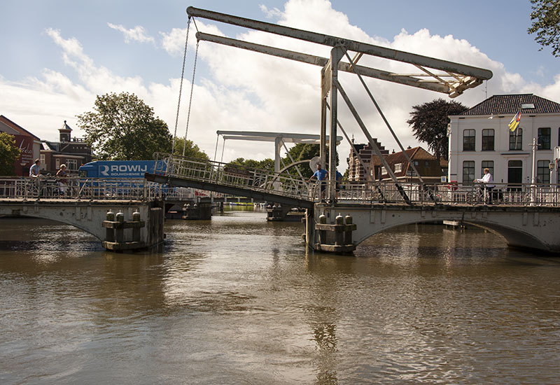 Franeker to Harlingen: Van Harinxmakanaal, Netherlands