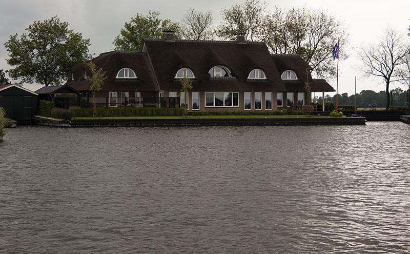 Sneek to Joure: Friesland, Netherlands