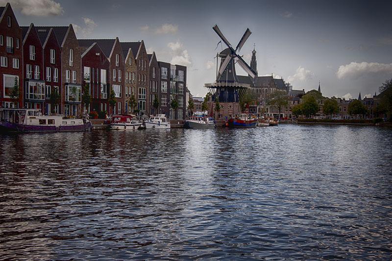 Westerkanal, Amsterdam to Haarlem: South Holland, Netherlands