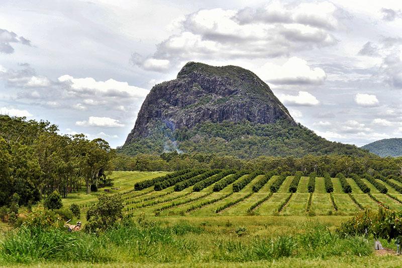 Glasshouse Mountains: Queensland, Australia
