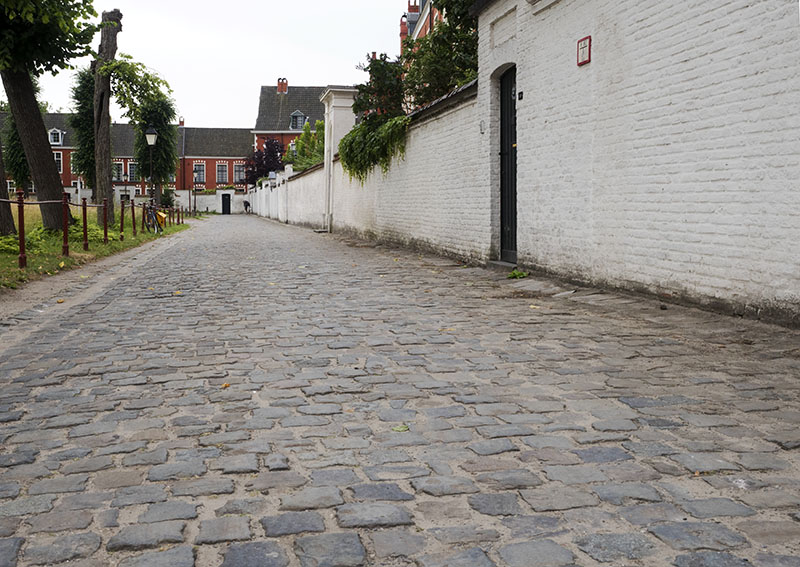 Klein Beguinage and Rabot: Ghent, Belgium