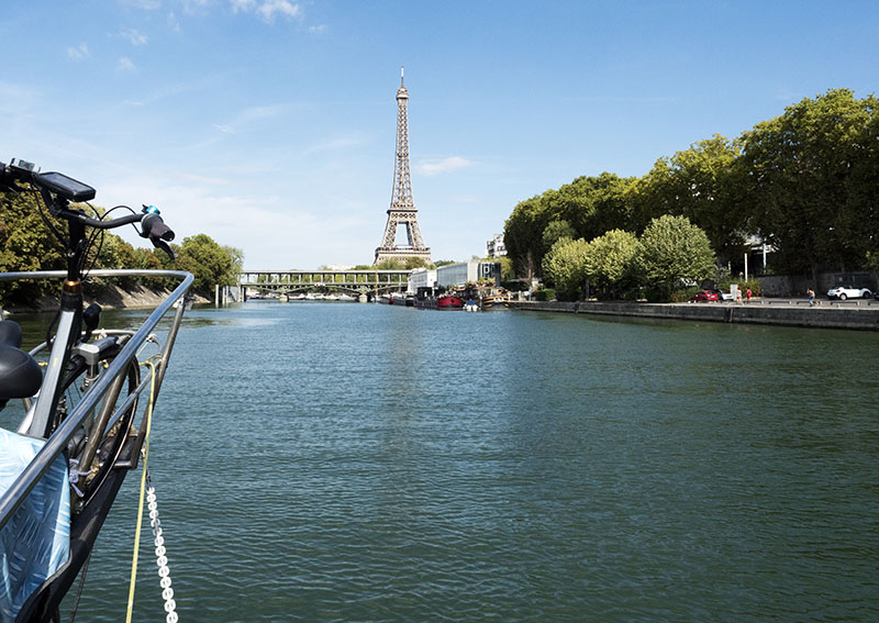 Paris Arrival: Bougival Lock to Paris (Arsenal Marina)