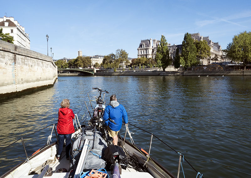 Time to Depart: Paris to Bougival, France