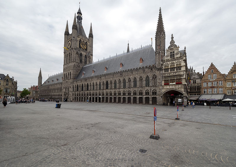 Ieper and the Yeper Museum: Ypres, Belgium