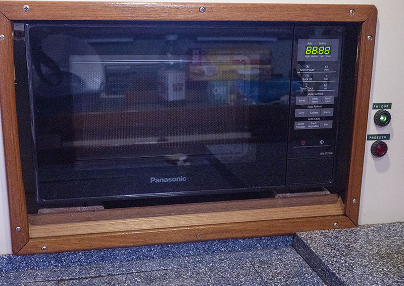 A New Microwave Installed