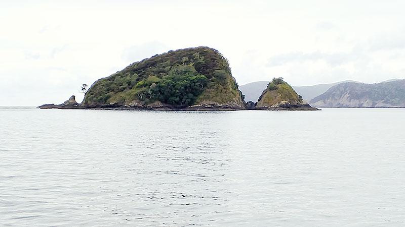 Oke Bay, Cape Brett to Paihia: New Zealand