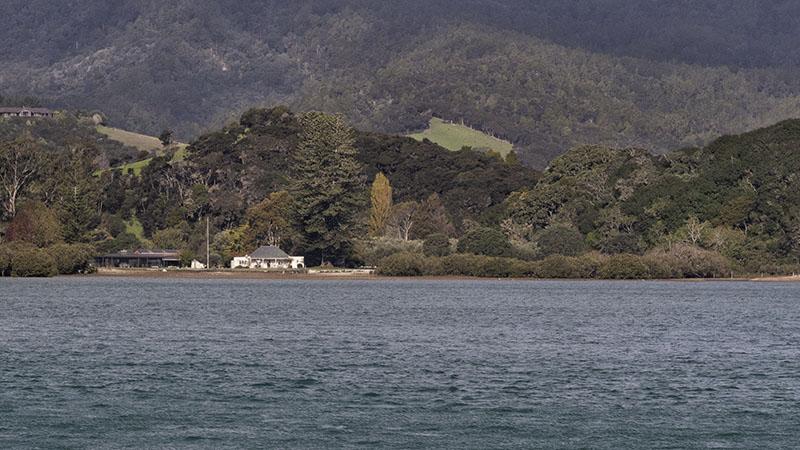 Windy Day in Orokawa Bay, New Zealand