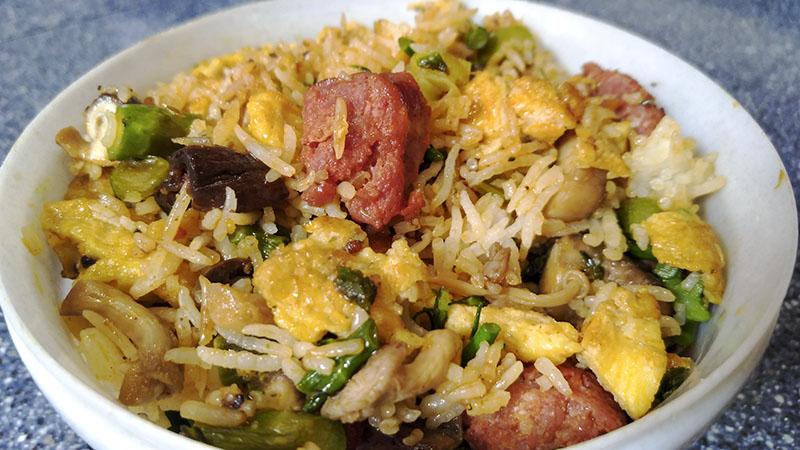 Fried Rice (Fresh Vegetable version)