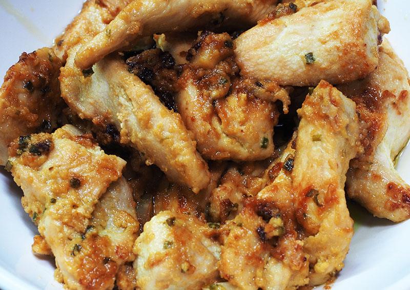Marinated Chicken in Honey